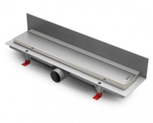 ALP-850KN3 Душевой водоотводящий желоб с рамкой Alpen Klasic/Floor пристенный, хром матовый