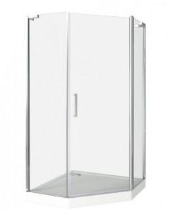ПД00007 Душевое ограждение Good Door Pandora PNT-100-C-CH 100 х 100 х 185 см,, стекло прозрачное, хром