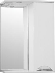 Зеркало-шкаф Style Line Жасмин 60/С белый