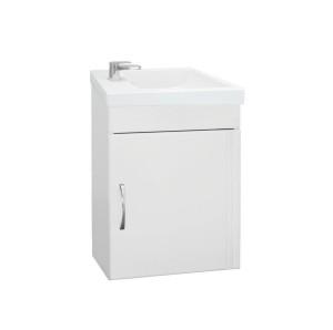 ЛС-00000248 Тумба под раковину Style Line Эко Стандарт №1 40 подвесная, белая