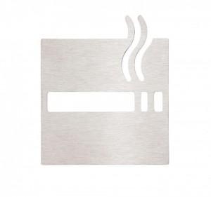 Табличка «Зона для курения» Bemeta Hotel 111022015, хром матовый