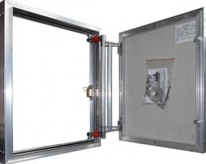 ЕТР60/50 Сантехнический люк настенный Практика Евроформат ЕТР 60x50 (ширина/высота)