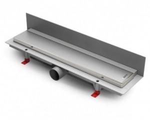 ALP-650KN3 Душевой водоотводящий желоб с рамкой Alpen Klasic/Floor пристенный, хром матовый