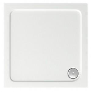 ПН00027 Душевой поддон Bas Форум 100 x 100 см акриловый, квадратный, белый