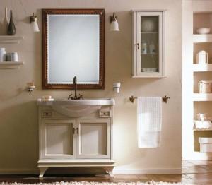 Комплект мебели Labro Legno MARRIOT Composizione M106, бежевый с патиной/бронза, 85 см