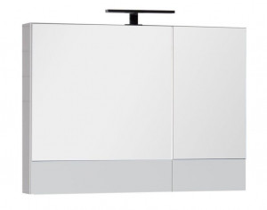 Зеркало-шкаф Aquanet Нота 90 (камерино) 00165371, цвет белый
