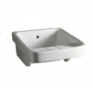 300305 Раковина AliceCeramica Laundry  47*60*27 см хозяйственная