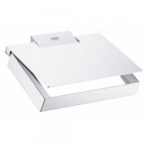 40781000 GROHE Selection Cube Держатель для туалетной бумаги, хром