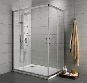 30435-01-01N Душевой уголок Radaway Premium Plus D 30435-01, 120 x 80 см