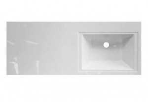 ФР-00002062 Раковина Эстет Даллас 100, правая, 100.2 х 48.2 х 14.5 см