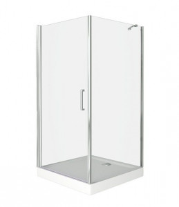 ПД00001 Душевое ограждение Good Door Pandora CR-100-C-CH 100 х 100 х 185 см,, стекло прозрачное, хром