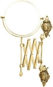 Настенное косметическое зеркало Migliore Elizabetta ML.ELB.DO-60.119 - золото