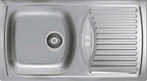 1037766 Мойка кухонная Alveus BASIC 150 SAT-90 780 x 435