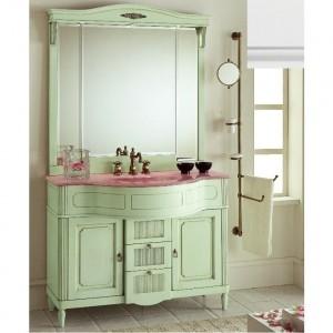 Комплект мебели Eurodesign Luigi XVI Композиция № 4, Bianco Satinato/белый матовый