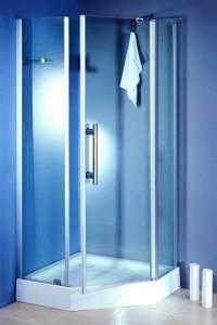 TS-6338 Душевой уголок Appollo, 80 х 80 х 200 см, стекло прозрачное
