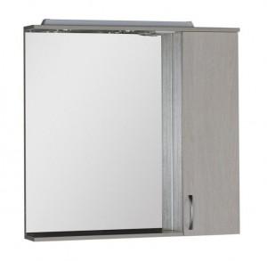 Зеркало-шкаф Aquanet Донна 90 00169178, цвет белый дуб
