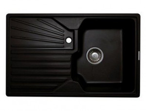 L5.LAV Кухонная мойка Lava, цвет LAVA чёрный металлик
