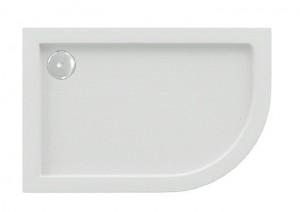 ПН00043 Душевой поддон Bas Калипсо 120 x 80 см L/R, акриловый, асимметричный, белый