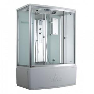 T-8850 C Душевой бокс Timo Comfort Clean Glass стекло прозрачное 150x88 см