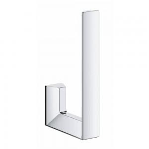 40784000 GROHE Selection Cube Держатель для запасного рулона туалетной бумаги, хром