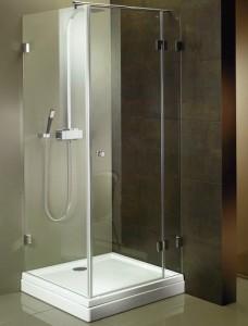 GC27200 Душевой уголок Riho Scandic S-203, 90 х 90 х 200 см, стекло прозрачное