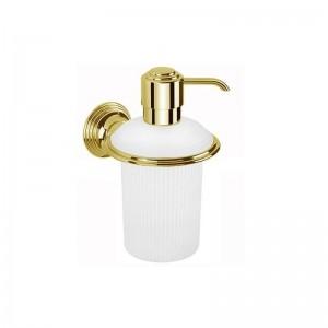 Дозатор для жидкого мыла Colombo Hermitage B9335.HPS, золото