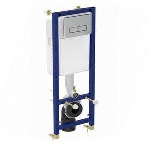 W3710AA Инсталляция Ideal Standard для унитаза в сборе с крепежом и кнопкой