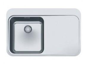 127.0276.387 Мойка Franke SINOS SNX 211,, установка сверху, SlimTop, левая, нержавеющая сталь, полированная, 78*51 см