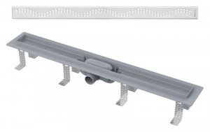 APZ8-750M Душевой лоток AlcaPlast APZ8-Simple 750 с решеткой и опорами