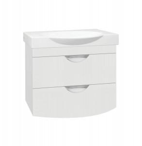 ЛС-00000313 Тумба под раковину Style Line Жасмин-2 76 Люкс Plus, белая
