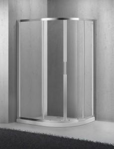 SELA-RH-2-100/80-C-Cr Душевой уголок BelBagno, 100 х 80 х 190 см, стекло прозрачное