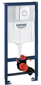 38832000 Инсталляция Grohe 3 в 1 Solido с клавишей и крепежом