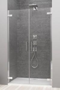 386030-03-01L/386031-03-01R Двустворчатая дверь Radaway Arta DWD 40L + 45R, стекло прозрачное