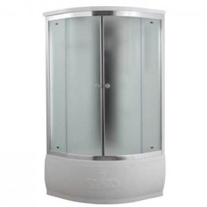 T-8890 F Душевая кабина Timo Comfort Fabric Glass, стекло матовое, 90 x 90 см