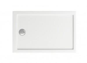 ПН00028 Душевой поддон Bas Олимпик 110 x 80 см акриловый, прямоугольный, белый