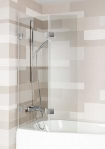 GC63200 Стеклянная шторка для ванны Riho Scandic S500 82 x 150 см