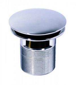 32140101 Выпуск Wirquin CLICK CLACK с отверстием для перелива L75 мм, латунь