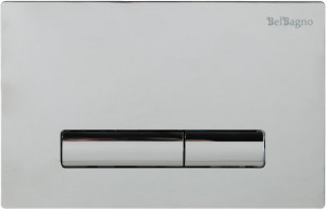 Кнопка смыва BelBagno GENOVA, цвет-хром глянцевый