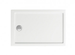 ПН00044 Душевой поддон Bas Олимпик 110 x 70 см акриловый, прямоугольный, белый