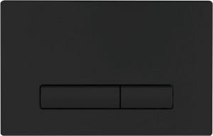 Кнопка смыва BelBagno GENOVA, цвет-черный матовый Tocco Morbido