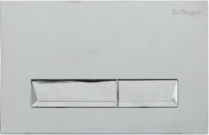 Кнопка смыва BelBagno MARMI, цвет-хром глянцевый
