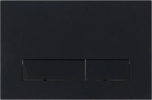 Кнопка смыва BelBagno MARMI, цвет-черный матовый Tocco Morbido