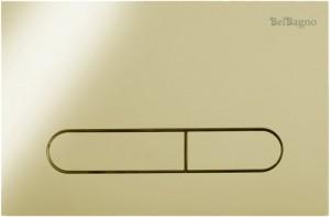 Кнопка смыва BelBagno PROSPERO, цвет-золото