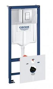 38775001 Инсталляция Grohe Rapid SL в комплекте с крепежом и кнопкой