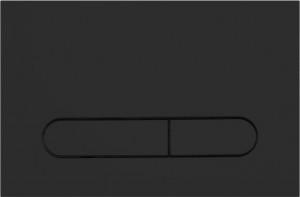 Кнопка смыва BelBagno PROSPERO, цвет-черный матовый Tocco Morbido