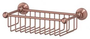 Полочка-решетка 3SC Stilmar STI 607 31 см, античная медь