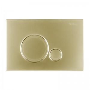 Кнопка смыва BelBagno SFERA, цвет-золото