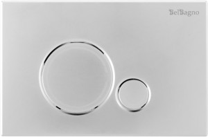 Кнопка смыва BelBagno SFERA, цвет-хром глянцевый