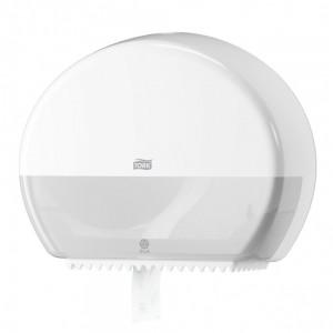 Диспенсер для туалетной бумаги Tork Singlefold 555000 в мини-рулонах, белый