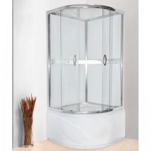 HA2R099i21 Душевая кабина Iddis HA 90 x 90 см, стекло прозрачное
